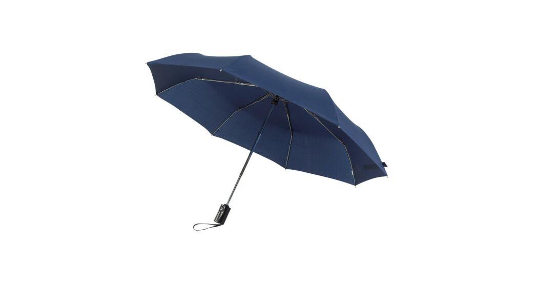 4e99b6152115 EXPRESS automatikusan nyitható/zárható, összecsukható esernyő, tengerészkék  - Esernyők - Ajándékok.shop webáruház, webshop 2500 ajándéktárgy
