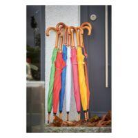 Kép 4/4 - TANGO automata, fa esernyő, fehér