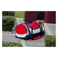 Kép 3/3 - MARINA sporttáska, kék, vörös, fehér