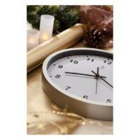 Kép 3/4 - NEPTUNE rádióvezérelt óra, ezüst, fehér