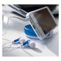 Kép 4/4 - HOLD THE MUSIC fülhallgató, fehér, kék