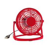 Kép 2/3 - NORTH WIND USB-s ventilátor, vörös