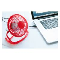 Kép 3/3 - NORTH WIND USB-s ventilátor, vörös