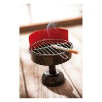 Kép 3/3 - BBQ hamutartó, vörös, fekete