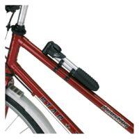 Kép 3/3 - AIRFLOW kerékpár pumpa, fekete, ezüst