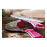 Kép 4/4 - SUMMER FEELING strand ütögetős szett, fehér, rózsaszín