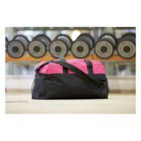 Kép 3/3 - FITNESS sporttáska, fekete, rózsaszín