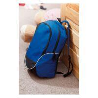 Kép 3/3 - CURVE hátizsák, kék, fekete