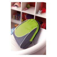 Kép 3/3 - POP hátizsák, szürke, almazöld