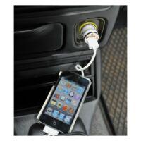 Kép 3/3 - ROAD TRIP USB adapter, fehér