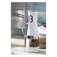 Kép 3/3 - SALT & PEPPER só- és borsdaráló, fehér, ezüst