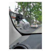 Kép 4/4 - MUSH autós bluetooth kihangosító, ezüst ,  fekete