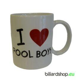 Bögre - I love pool boys