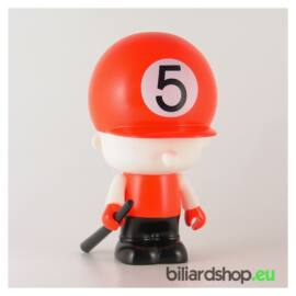 Hat Doll Coin Bank pool biliárdos persely, 5-ös