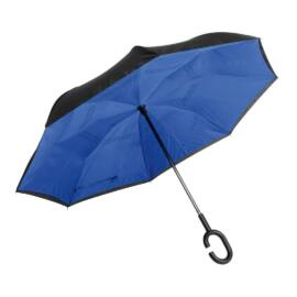 FLIPPED esernyő, fekete, kék