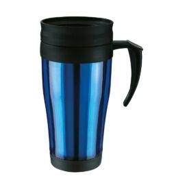 WARM-UP duplafalú műanyag pohár, kék