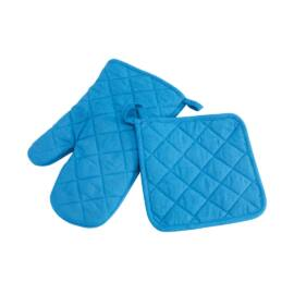SECURE edényfogó szett, kék