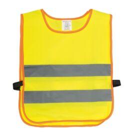 MINI HERO gyermek láthatósági mellény élénk színekkel, sárga, szürke, narancssárga