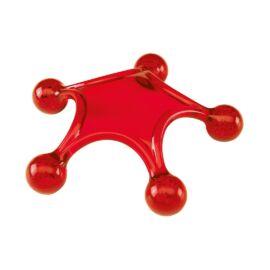 STARFISH tengeri csillag masszírozó, vörös