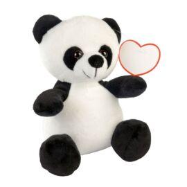 ANTHONY plüss panda, fehér, fekete