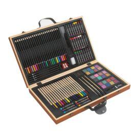 MONET 88 darabos művész színező készlet, színes