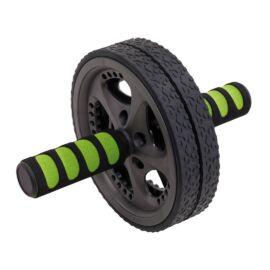 FIT WHEEL hasizomedző kerék, fekete, zöld
