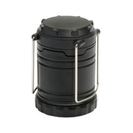 FLASH ON COB fényű kemping lámpa, fekete
