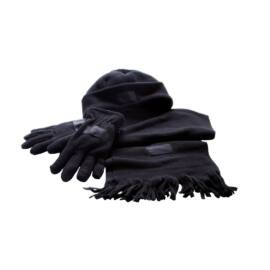 TRIPLE puha polár szett, fekete