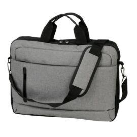 YALE laptop táska, fekete, szürke