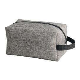 DONEGAL kozmetikai pipere táska, fekete, szürke