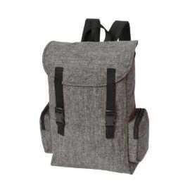 DONEGAL S hátizsák, fekete, szürke