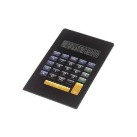 NEWTON 12 karakteres elemes/napelemes számológép, fekete