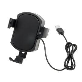 CHARGE N GO mobiltelefon tartó és töltő, fekete