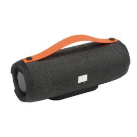 MEGA BOOM bluetooth hangszóró, fekete, narancssárga
