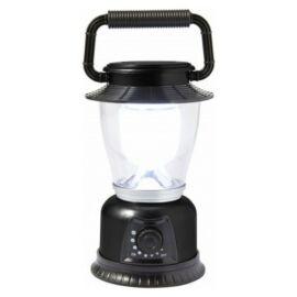LED kempinglámpa, fekete
