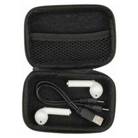 Vezeték nélküli fülhallgató, fekete