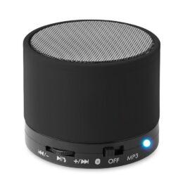 ROUND BASS Kerek Bluetooth hangszóró, fekete
