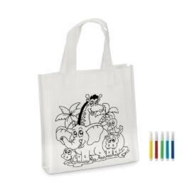 SHOOPIE Mini bevásárlótáska, fehér