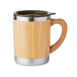 MOKKA Duplafalú pohár, fa