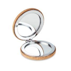 GUAPA CORK Tükör parafa borítással, beige