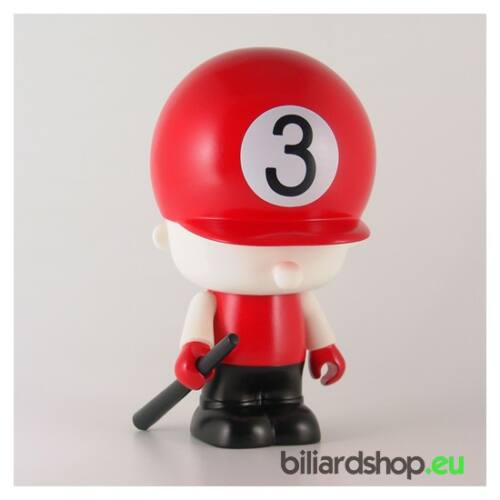 Hat Doll Coin Bank pool biliárdos persely, 3-as