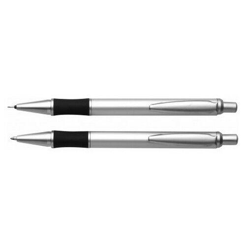 ESCAPE alumínium tollkészlet, kék tollbetéttel, ezüst