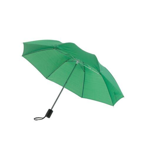REGULAR összecsukható mechanikus esernyő, zöld