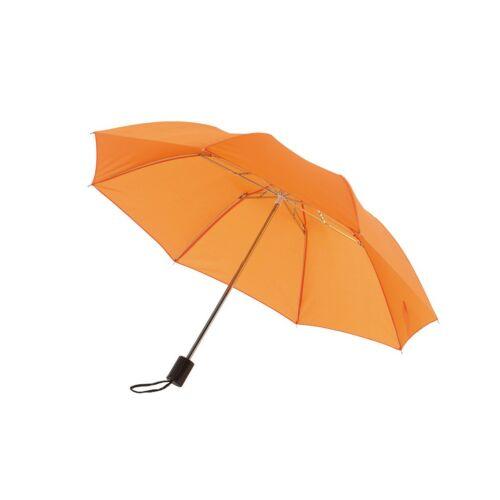 REGULAR összecsukható mechanikus esernyő, narancssárga