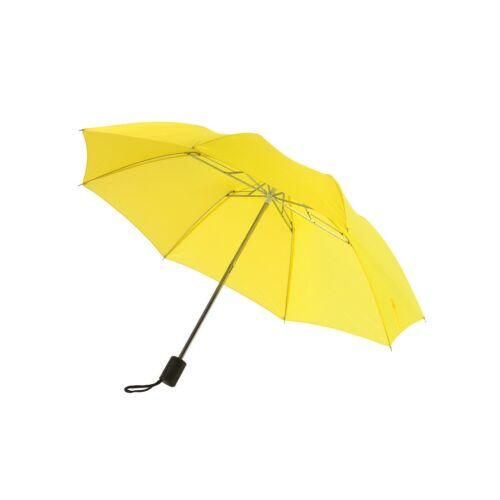 REGULAR összecsukható mechanikus esernyő, sárga