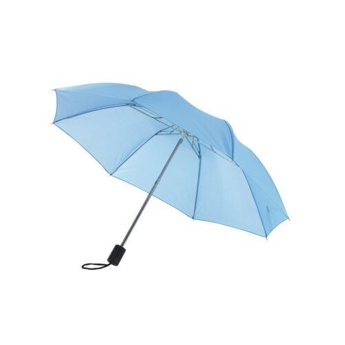 REGULAR összecsukható mechanikus esernyő, világoskék