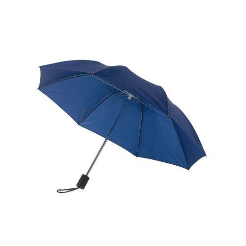 REGULAR összecsukható mechanikus esernyő, tengerészkék