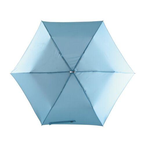 FLAT szuper mini alumínium összecsukható esernyő, világoskék