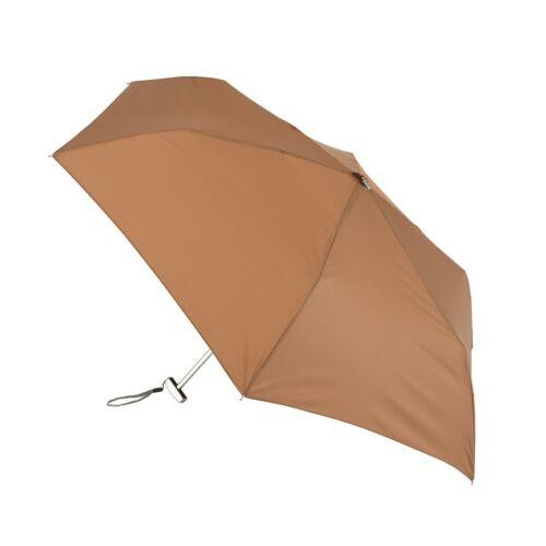 FLAT szuper mini alumínium összecsukható esernyő, barna