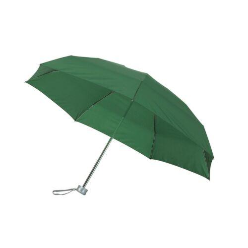 SHORTY alumínium összecsukható esernyő, sötétzöld